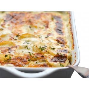 42. Gratinée patate s vepřovým masem 500g